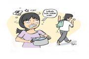 Suami Ringan Tangan, Lupa Bikin Air Panas, Kepala Istri Dikeplak