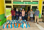 BNI KC Tanjung Perak Bagikan 450 Bingkisan Lebaran