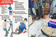 Carok di Pasar Kapasan, Pedagang Tewas Meregang Nyawa