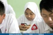 UTS Berbasis Android, Tak Harus HP High Class