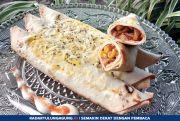 Tortilla Rolls Pizza; Gurih dan Tak Bikin Enek