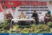 Gathering Forum Bisnis: Pemkab Blitar Tawarkan Potensi Investasi