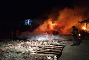 Kebakaran di Pabrik Pengolahan Kayu Banaran