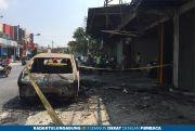 Pindah BBM Pertalite ke Jerigen, Mobil Pikap Terbakar