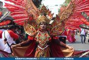 Angkat Potensi Kelurahan Turi, Gelar Pawai Budaya, Penonton Ribuan