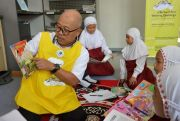 "UPT Perpustakaan Proklamator Bung Karno Launching ""Read Me A Book"""