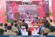 Upacara Peringatan HUT Ke-70 Satpol PP Kota Blitar