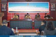 Pimpin Rakor, Plt Wali Kota Blitar Sampaikan Antisipasi Virus Korona