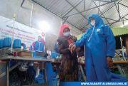 Usaha Sedang Slow Down, Donasikan 10 Ribu APD Bahan Spunbond