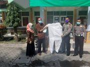 Dinkes Tulungagung Terima Bantuan APD dari Polres Tulungagung