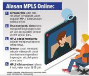 MPLS Wajib secara Daring