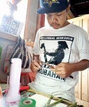 Cerita Rohmat, Sukses Jualan Bibit Anggur Online