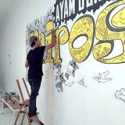 Doodle Art, Sarana Bagi Penggemar Corat-Coret di Blitar