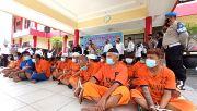 Jelang Ramadan, Bekuk 21 Pelaku Kriminal dan Narkoba