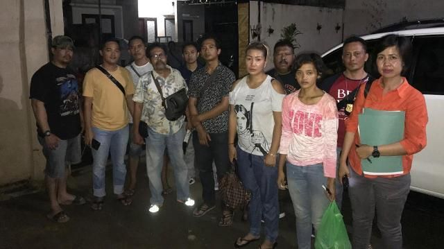 Siram PRT dengan Air Panas, Polisi Giring Tiga Orang ke Polda
