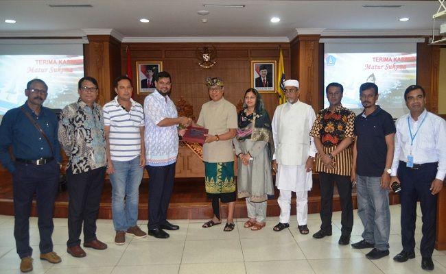 Wabup Suiasa Terima Kunjungan Delegasi Pemerintah Bangladesh