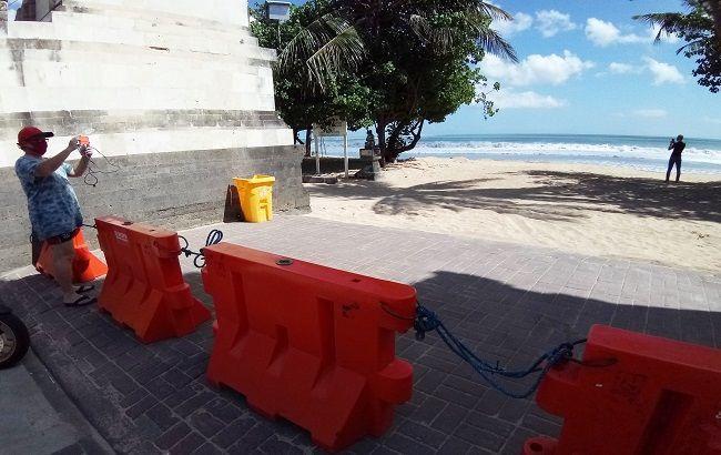 Pantai Kuta Siap Sambut Wisatawan Buka Akses 5 Pintu Masuk Ke Pantai