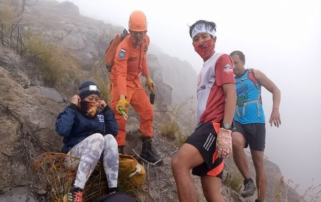 Dua Pendaki Tersesat Ditemukan Selamat, Gagal Turun Karena Keseleo