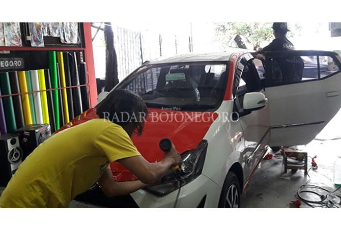 Kampanye Dongrak Permintaan Stiker Mobil Branding
