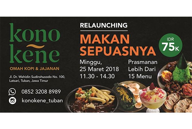 Relaunching: Kona Kono Kafe Tampil dengan Menu Baru