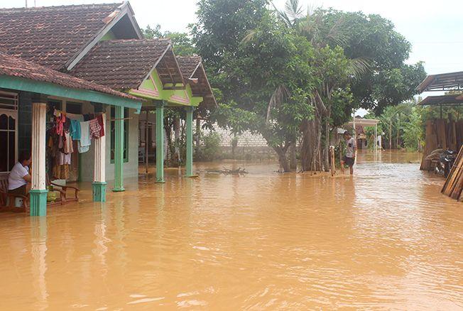 Ratusan Rumah di Pati Masih Terendam Banjir, hanya Surut 20Sentimeter