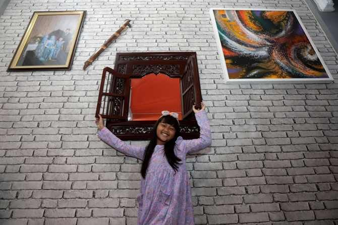 estetika wallpaper di rumah atau ruang kerja m 211145