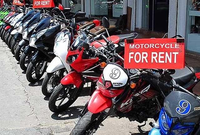 Memulai bisnis rental sepeda motor